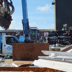 Foulds Crane Moving Metal