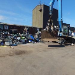 Foulds Crane Moving Sheet Metal