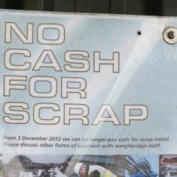 Foulds Cash Sign